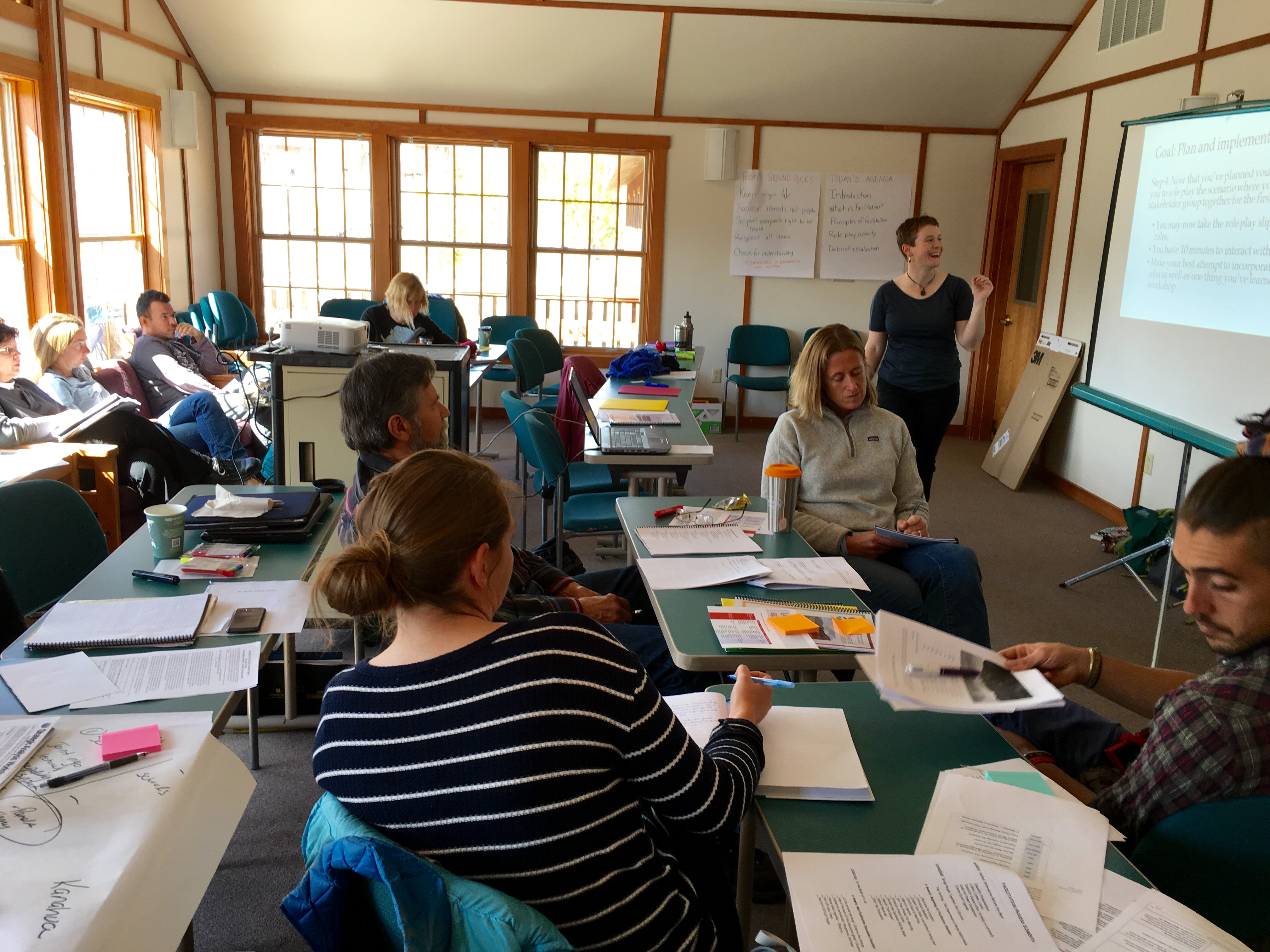 May 2016 - facilitation training for collaborative researchers